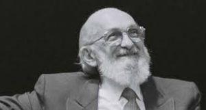 Paulo Freire, pedagogo brasileño.