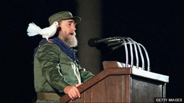 Fidel Castro Ruz, líder de la revolución cubana.