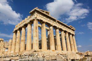 Partenón griego. FOTO: PIXABAY
