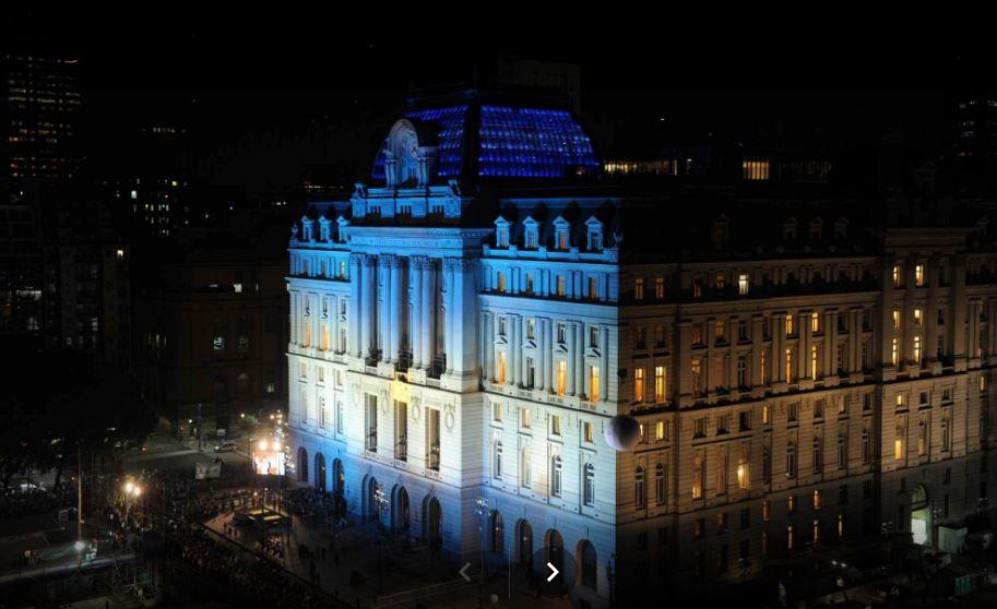 Centro Cultural Néstor Kirchner, mayor espacio cultural de Sudamérica, ubicado en Buenos Aires.