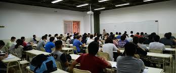 Aula de la Universidad Tecnológica Nacional (UTN).
