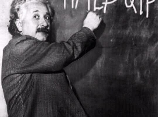 Einstein_MauricioMacri_LPQTP