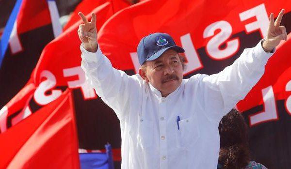 Daniel Ortega, líder del FSLN.