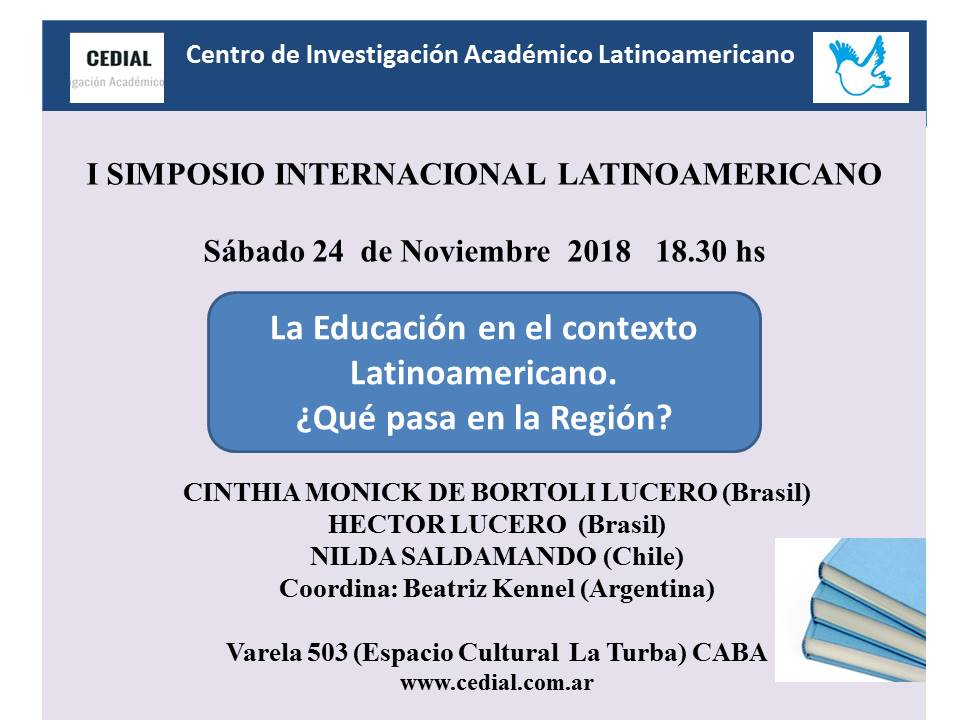 cartel simposio internacional cedial
